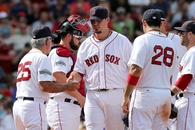 Boston Red Sox Reportedly Place Josh Beckett on Trade Waivers