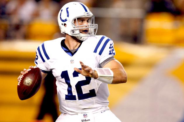 Comparing Andrew Luck and Robert Griffin III's 2nd NFL Games