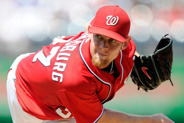 Washington Nationals to Shut Down Stephen Strasburg for 2 to 3 Starts
