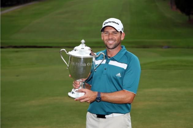 Barclays Golf 2012 Leaderboard: Sergio Garcia Will Win for 2nd Straight Week