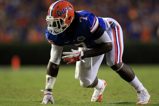 Florida Football 2012: Ronald Powell Has to Take Return Day-to-Day