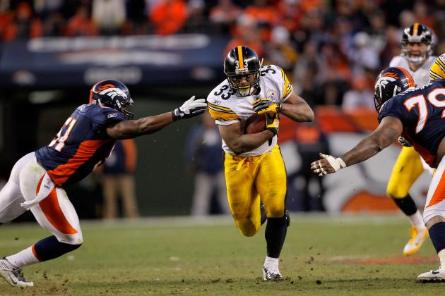 Isaac Redman: RB Must Find a Way to Fight Through Injury to Keep Steelers Afloat