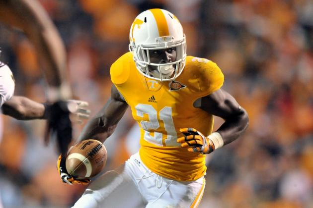 Tennessee Football: Da'Rick Rogers' Suspension Puts Pressure on Vols WRs