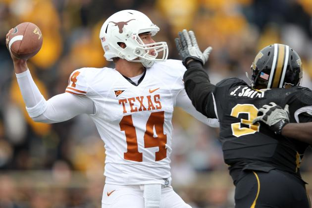 Texas Football: Why Longhorns Need to Go All-In with David Ash at QB