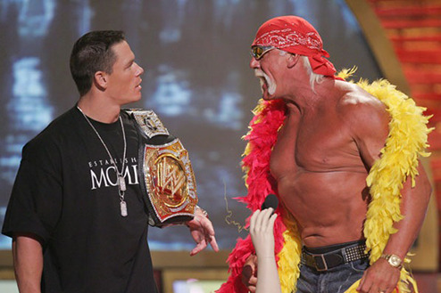 WWE: Is John Cena as Big as Hulk Hogan Was?