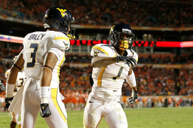 2012 WVU Football: Who Has the Better Season, Tavon Austin or Stedman Bailey?