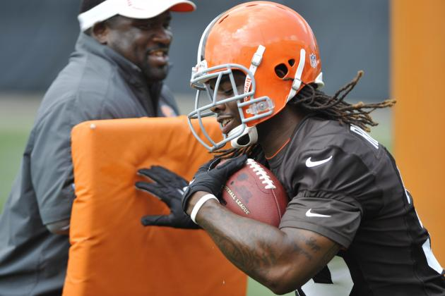 Breaking Down How Trent Richardson's Health Impacts Rookie QB Brandon Weeden