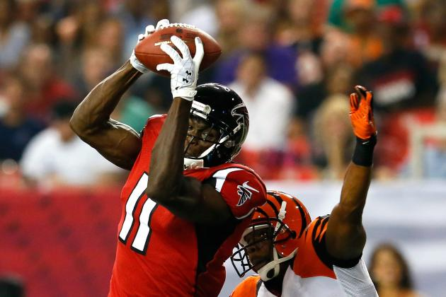 Breaking Down the Atlanta Falcons' Potential Passing Attack in 2012