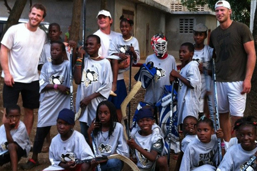 Vitale, Cooke Inspired by Trip to Haiti