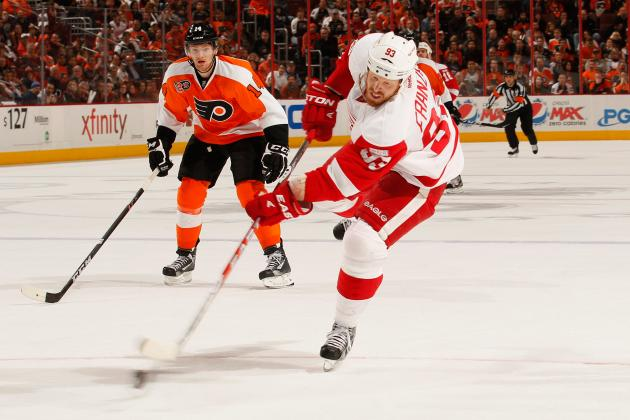 A Fired-Up Johan Franzen Could Be Elite Scorer for Red Wings