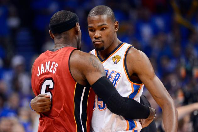 LeBron James or Kevin Durant:  Who Do You Really Want to Start a Team With?