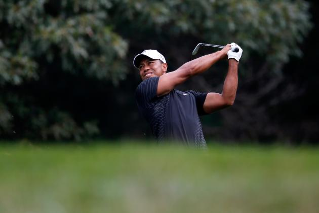 Tiger Woods Barclays: First Round Shows Golf Icon Is Still Making Major Strides