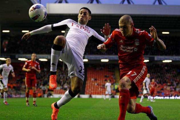 Liverpool Transfer Rumours: Reds Willing to Sell Adam, Spearing to Land Dempsey?