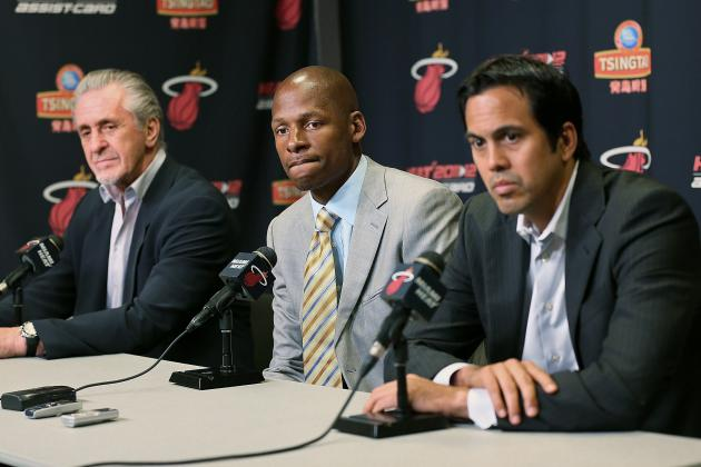 Breaking Down How Ray Allen Will Be Utilized in Miami Heat's Offense