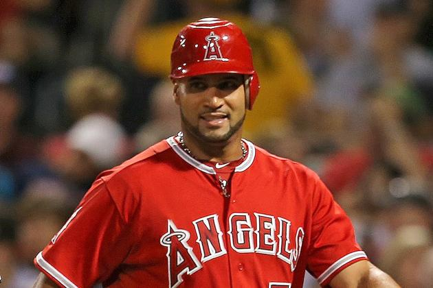 Angels Sit Pujols; Start Trumbo at 1B