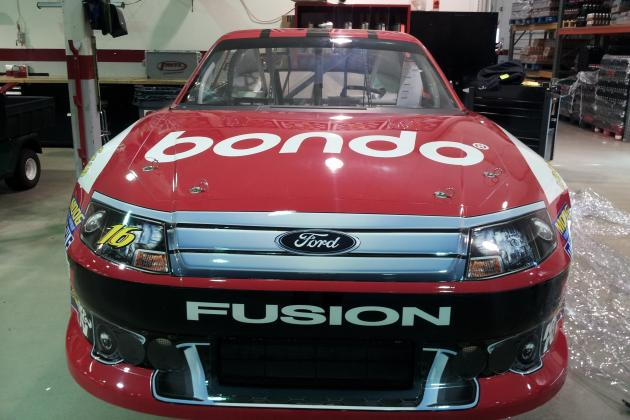 Greg Biffle, Bondo Bring Momentum into Sprint Cup Race at Bristol