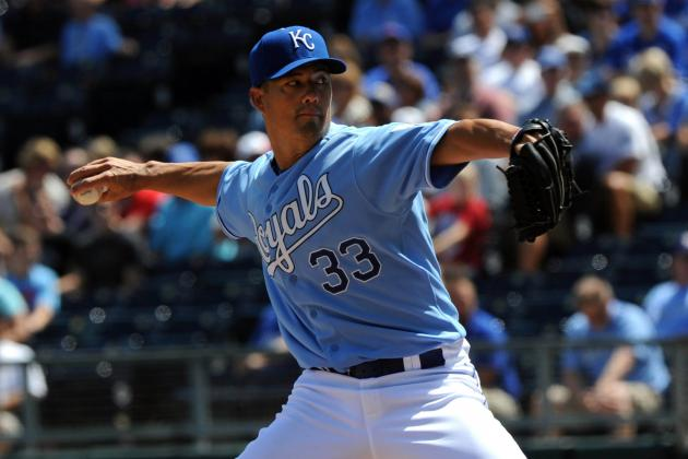 Predicting the Kansas City Royals 2013 Starting Rotation