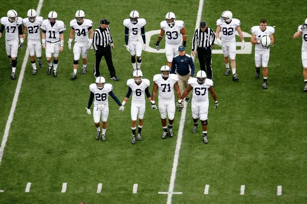 Penn State Uniform: Color Me in Something Other Than in Penn State Tradition