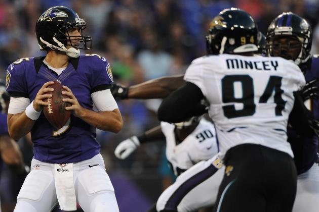 Jaguars vs. Ravens: Passing a Priority on What Is Now Joe Flacco's Team