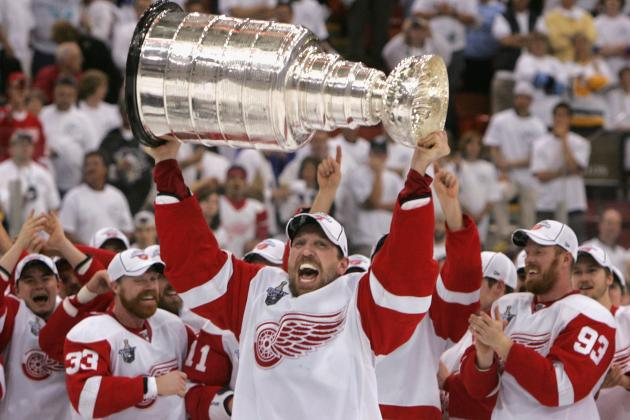 Detroit Red Wings Add 4 Players to Winter Classic Alumni Game Roster