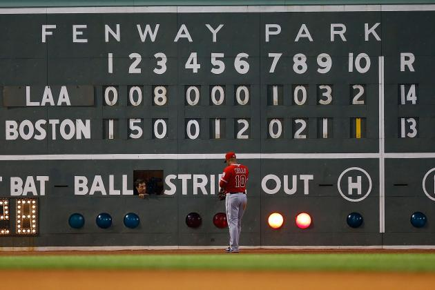 L.A. Angels vs. Boston Red Sox: A Game That Nobody Wanted to Win