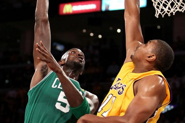 Breaking Down the Kevin Garnett-Andrew Bynum Matchup for Boston Celtics