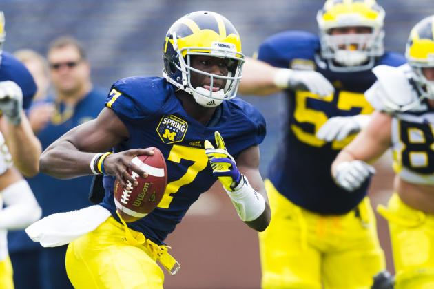 Michigan Football: Brady Hoke Comfortable with Devin Gardner's Dual Role