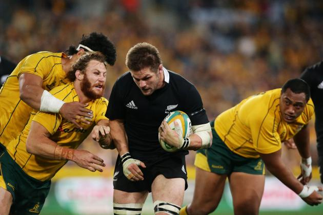 2012 Rugby Championship: All Blacks vs Wallabies Round 2
