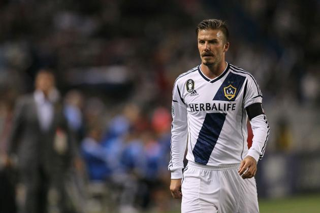 David Beckham Scores Directly from Corner for LA Galaxy