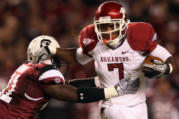 Arkansas Football: RB Knile Davis Shows He Means Business by Demanding Contact
