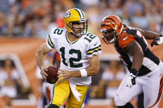 Aaron Rodgers: 'Leading Rusher' Not Uncommon for Green Bay Packers