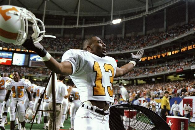 Classic SEC Football: Tennessee Tops Auburn in the 1997 SEC Championship Game