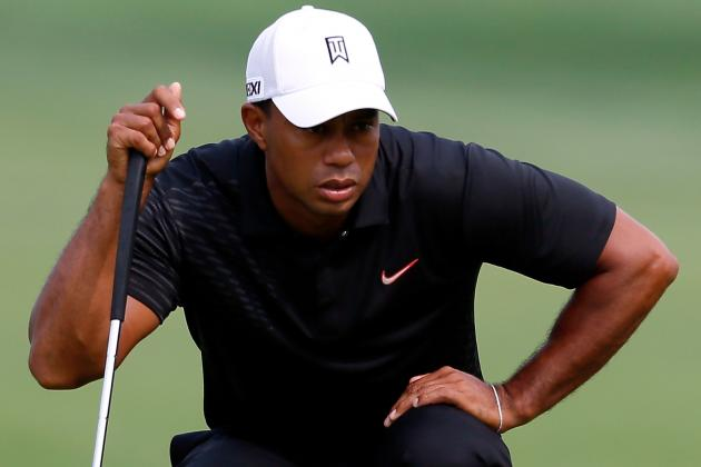 Tiger Woods at Barclays 2012 Tracker: Day 2 Highlights, Updates and More