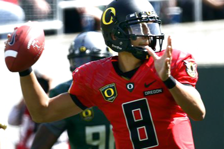 Marcus Mariota Reportedly Named Starting QB of Oregon Ducks