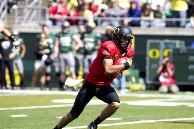 Oregon Ducks: Fan Reaction to Marcus Mariota as Ducks New Starting Quarterback