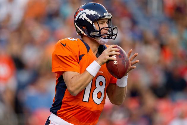 Peyton Manning: Strong Running Game Key to Broncos' No-Huddle Attack