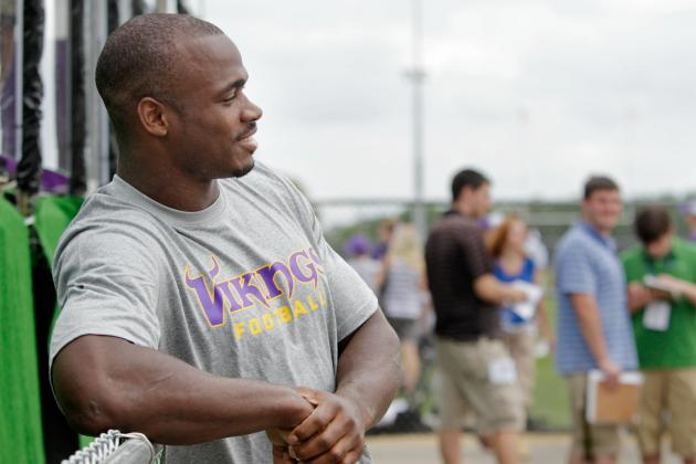 Adrian Peterson: Why Minnesota Vikings Cannot Expect Him to Carry Team in 2012