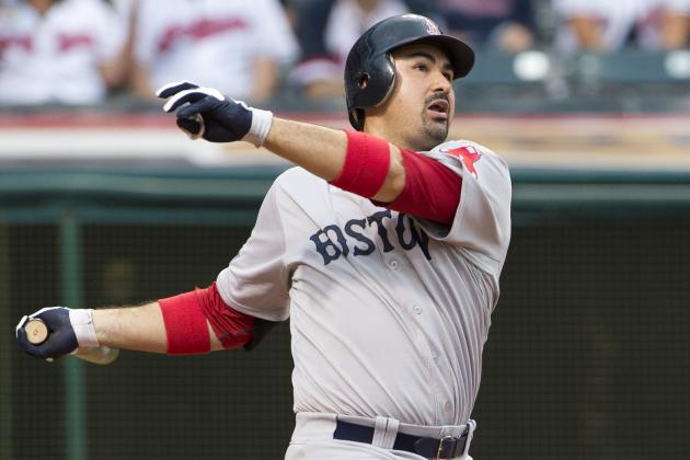 Adrian Gonzalez Claimed by Los Angeles Dodgers: Should Boston Red Sox Trade 1B?