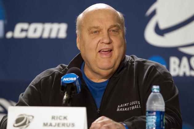 Atlantic 10 Turmoil Continues as Saint Louis Coach Rick Majerus Steps Down