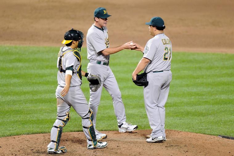 2012 Oakland Athletics Bent but Not Broken with Loss of Bartolo Colon