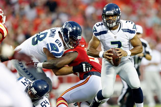 Russell Wilson: Grading Seahawks' Rookie QB's Performance vs. Chiefs