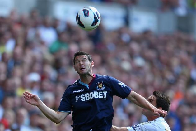 Matt Jarvis' Debut a Rare Bright Spot for West Ham United on Saturday