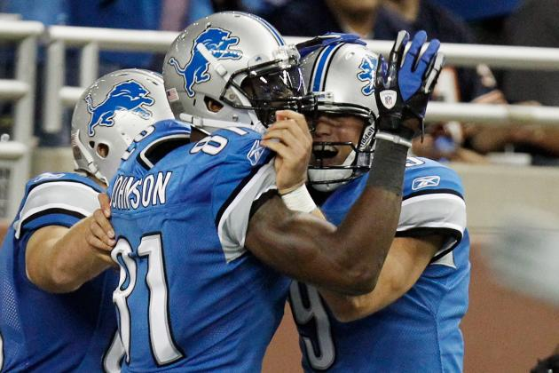 Detroit Lions Don't Need to Run the Football with Stafford, Johnson and Co.