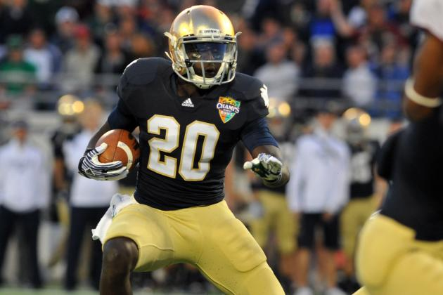 Notre Dame Football: Cierre Wood to Become Heisman Sleeper with Golson as QB
