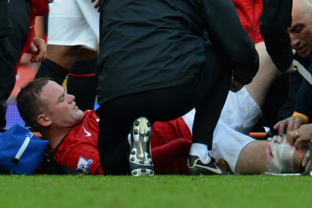 Wayne Rooney Injury: Updates on Manchester United Star's Leg Injury