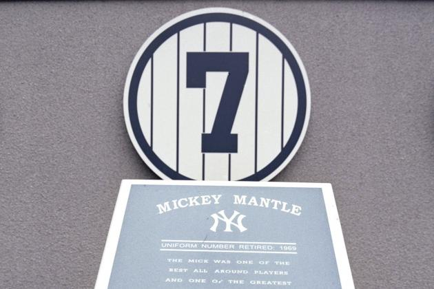 New York Yankees Do Walk of Life 210 Times; Mickey Mantle, Babe Ruth Lead Team