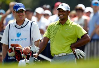 Tiger gets to -6 at the Barclays