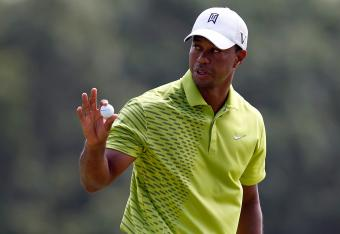 Tiger Woods shot 72 on Saturday