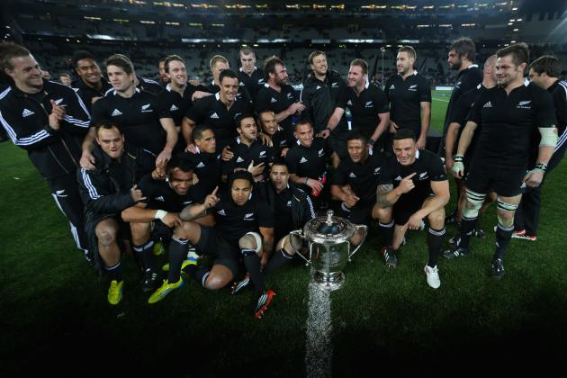 Rugby: All Blacks Shut out Wallabies to Win Bledisloe Cup