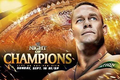 Report: Top 5 Matches for WWE Night of Champions Revealed